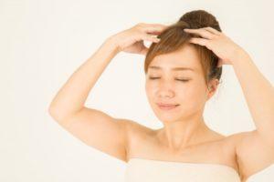 紫外線対策 薄毛