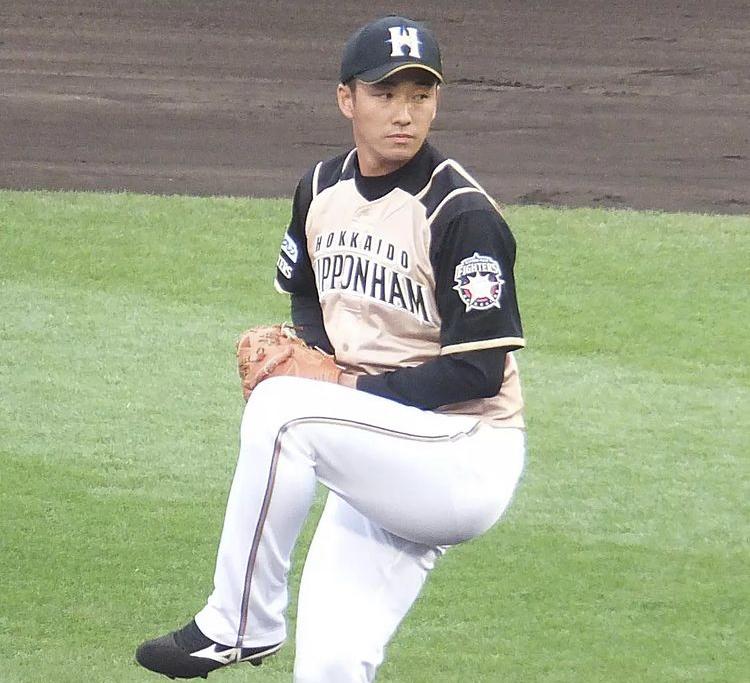 斎藤佑樹選手